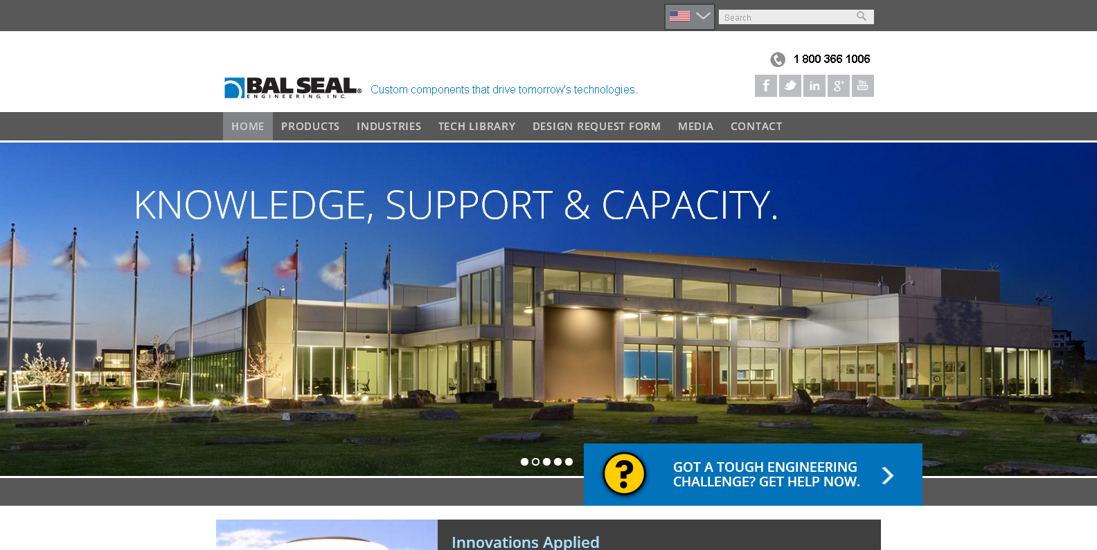 Introducing Our Latest Launch: Bal Seal Engineering Inc.