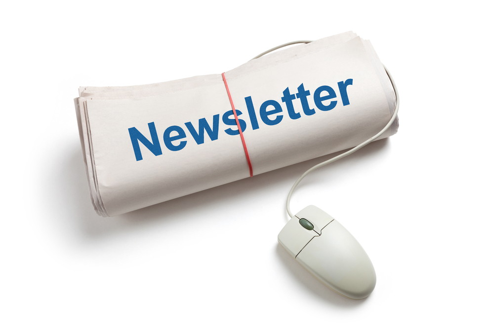 Newsletter reminder