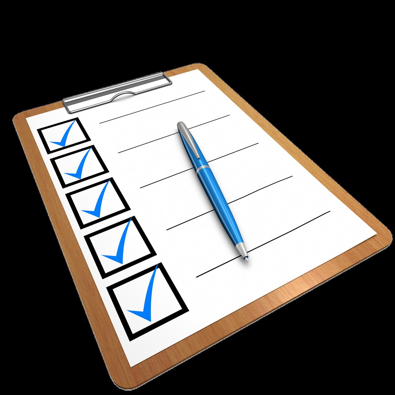 The Modern Association Checklist