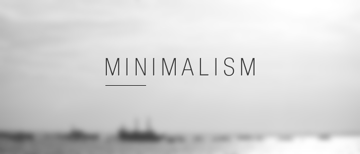 The Art (and science) of Minimalism